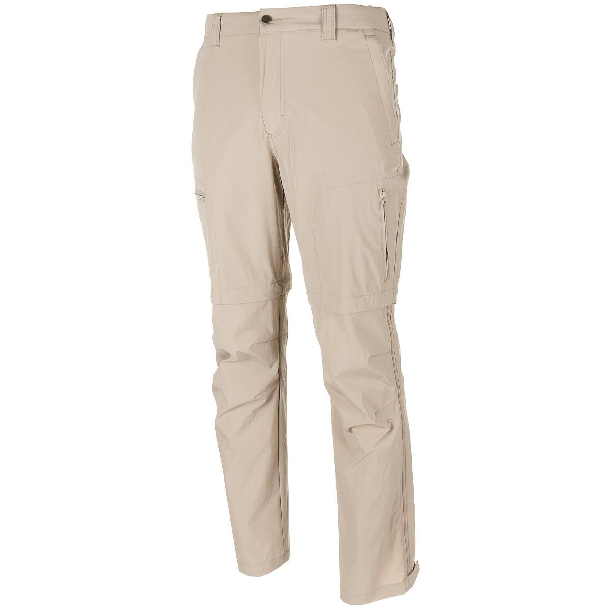 Nohavice RACHEL trekkingové odopínateľné KHAKI
