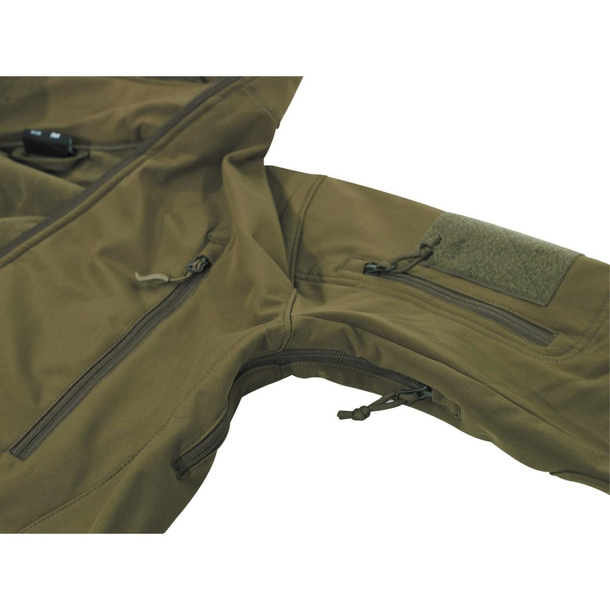 Bunda SCORPION softshellová OLIV MFH Defence 03415B L-11