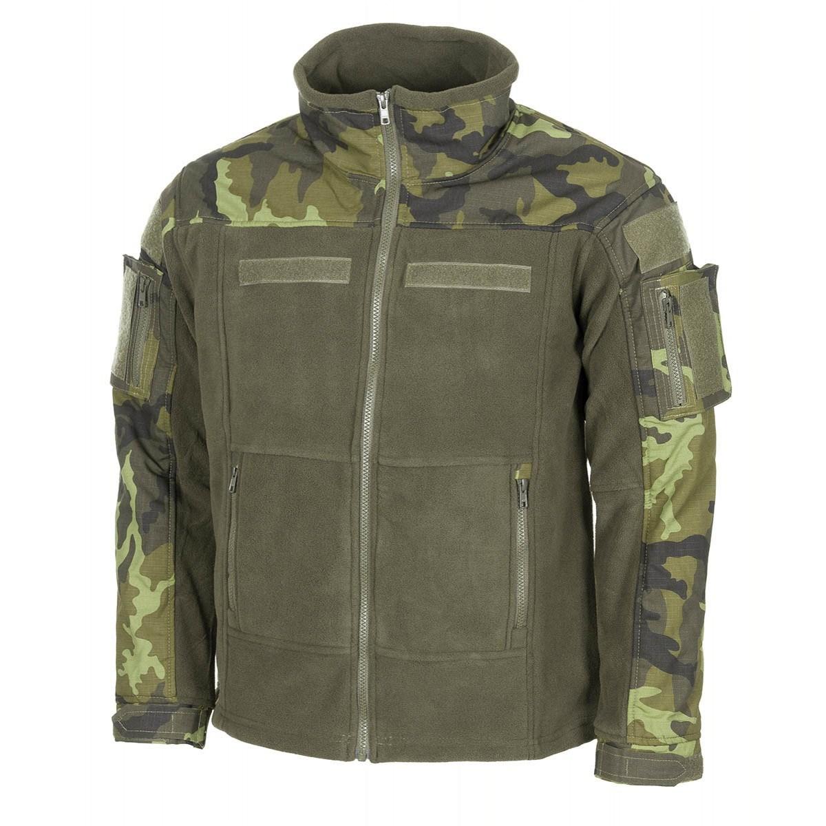 Bunda taktická fleece COMBAT AČR vz.95 Les MFH Defence 03811J L-11