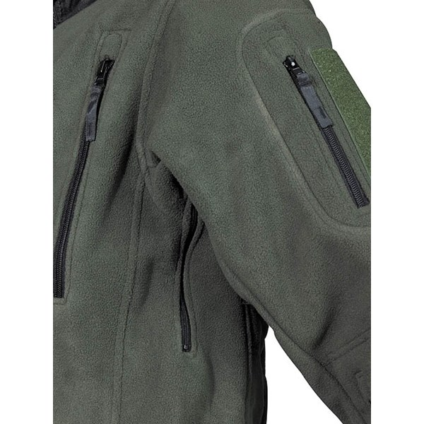 Bunda fleece Heavy-Strike OLIV MFH Defence 03841B L-11