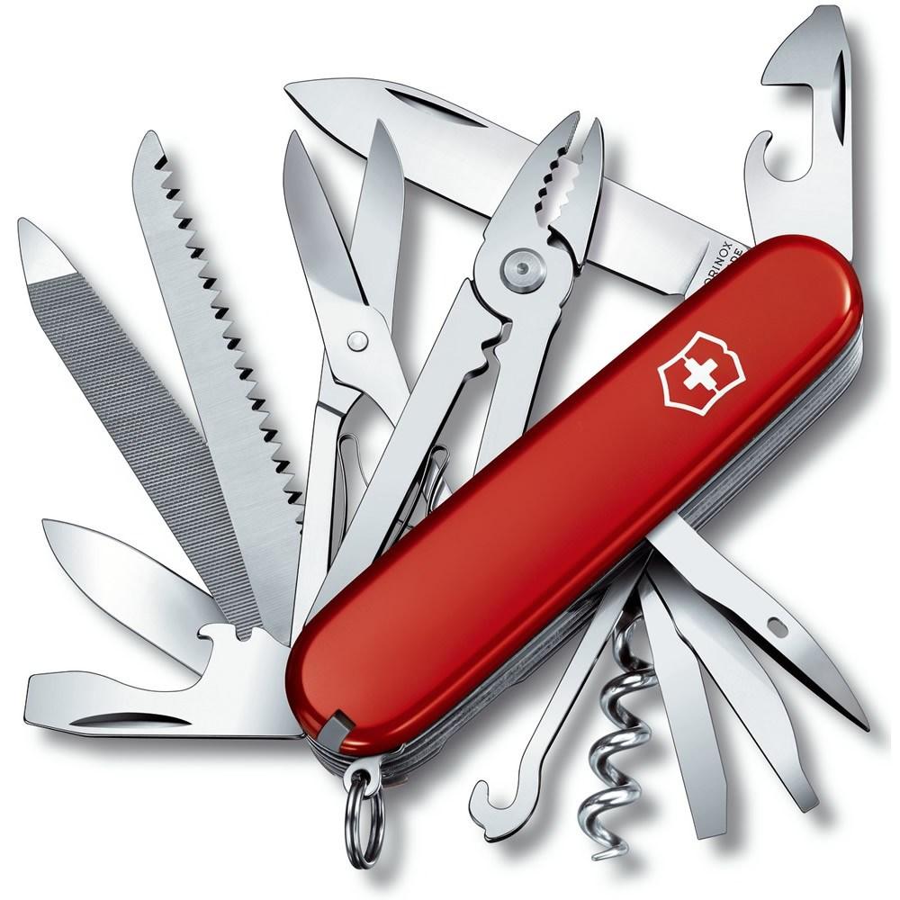 Nôž vreckový HANDYMAN ČERVENÝ