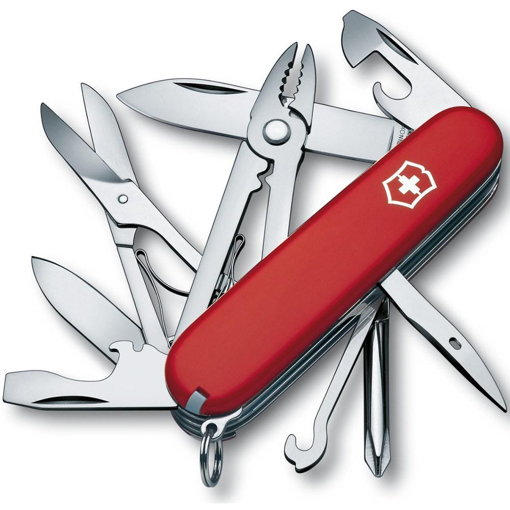 Nôž vreckový DELUXE TINKER ČERVENÝ