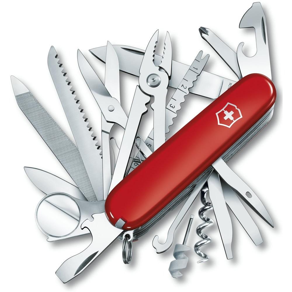 Nôž vreckový SWISSCHAMP ČERVENÝ