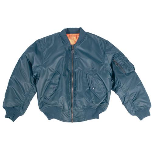 Bunda US MA1 TEESAR® bomber MODRÁ TEESAR® 10401003 L-11
