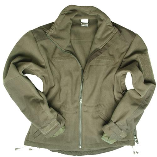 Bunda WINDPROOF fleece OLIV MIL-TEC® 10856101 L-11