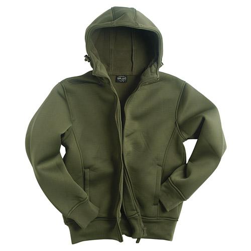 Bunda NEOPREN s fleece podšívkou OLIV MIL-TEC® 10860001 L-11