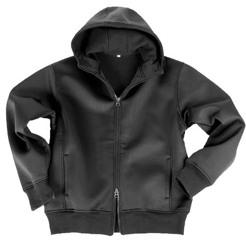 Bunda NEOPREN s fleece podšívkou ČIERNA MIL-TEC® 10860002 L-11