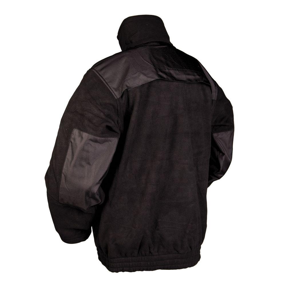 Bunda SECURITY fleece ČIERNA MIL-TEC® 12056002 L-11