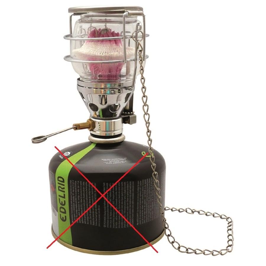 Lampa plynová pre skrutkovacie kartuša