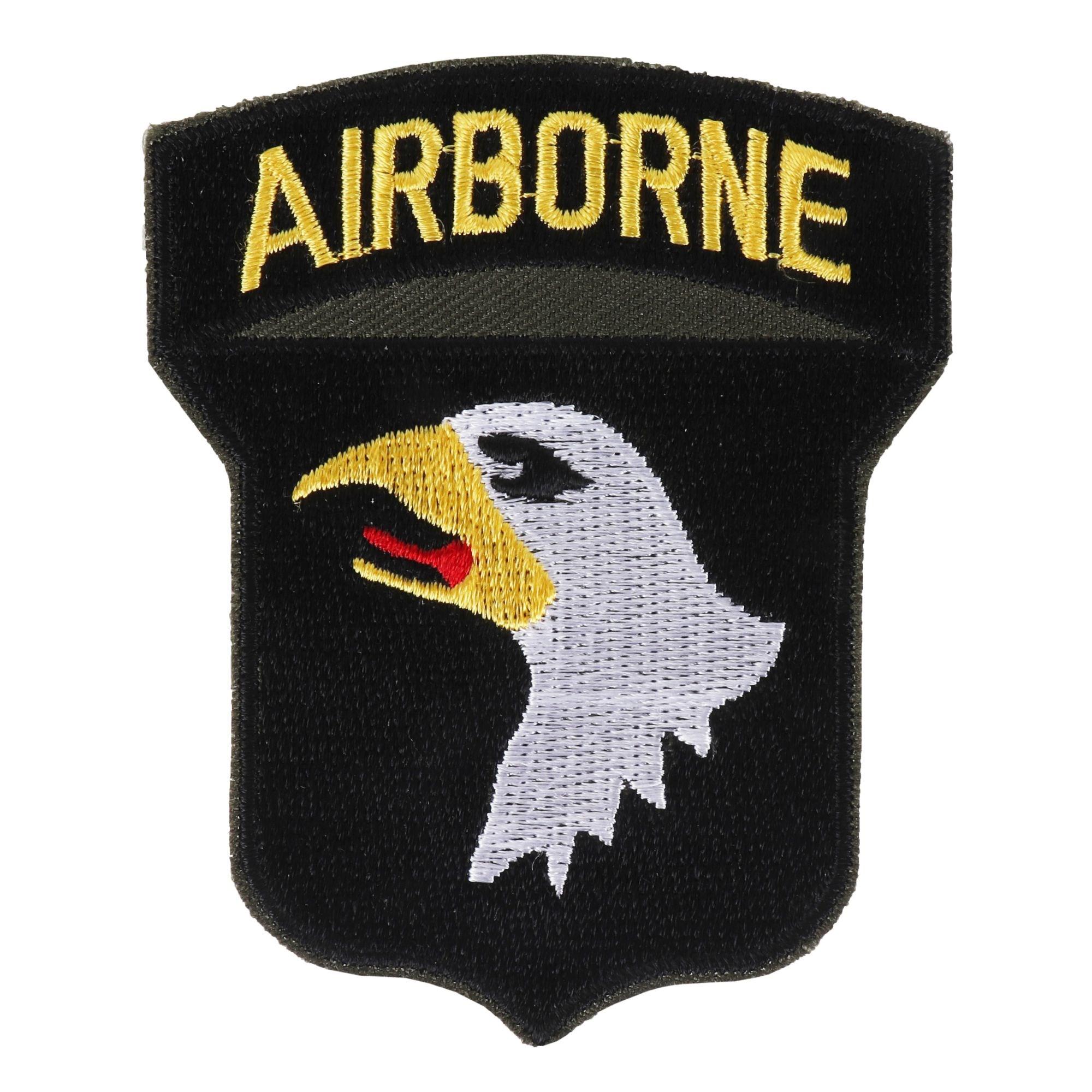 Nášivka US 101. AIRBORNE textilná