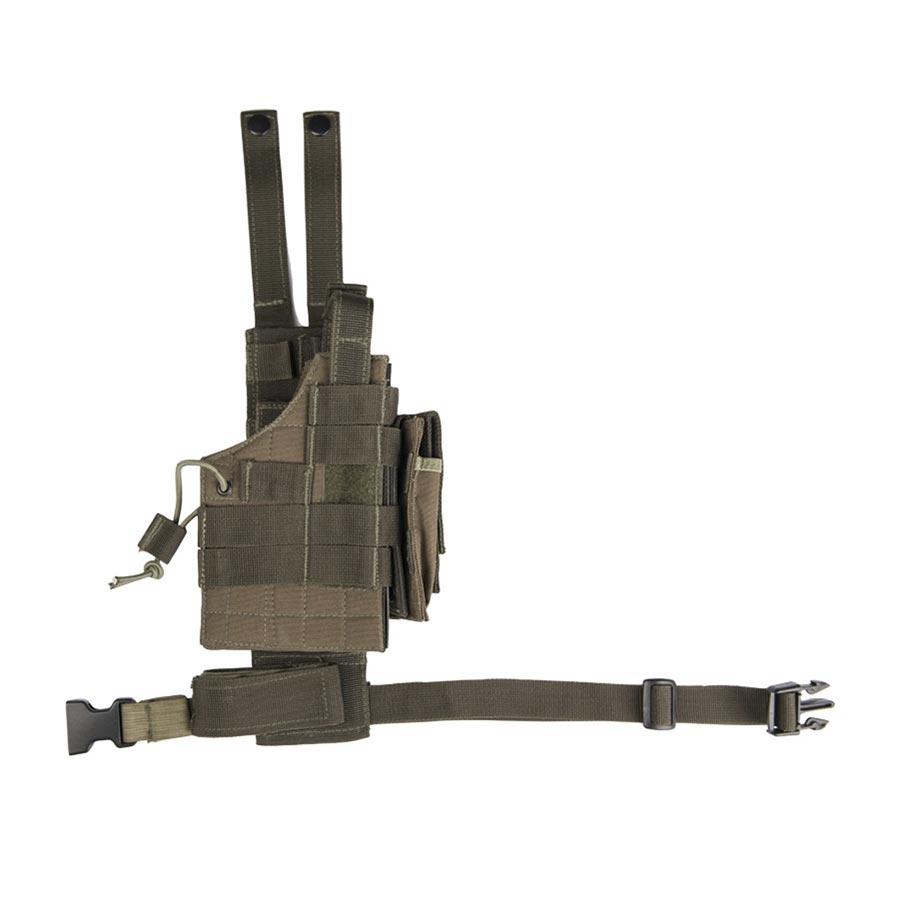 Puzdro pre pištoľ na stehno obojstranné US MODULAR ZELENÉ