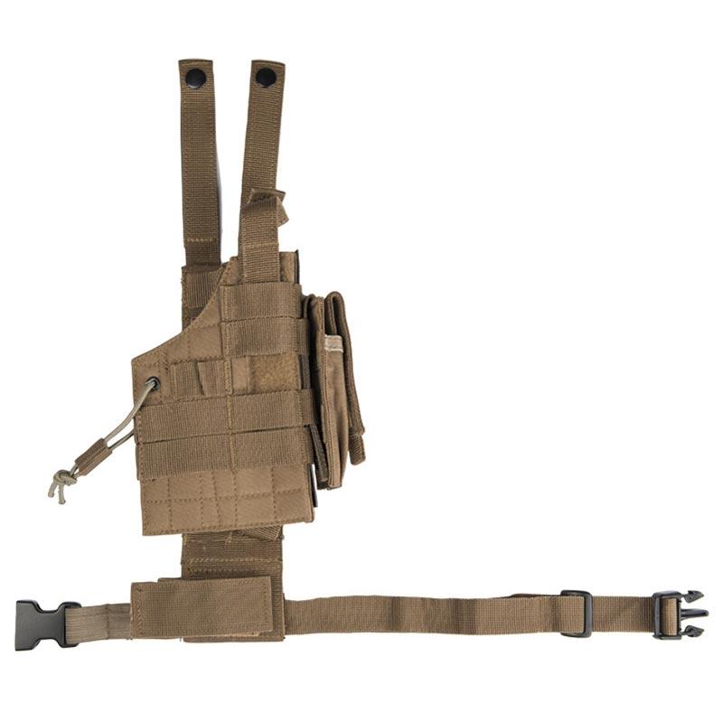 Puzdro pre pištoľ na stehno obojstranné US MODULAR COYOTE