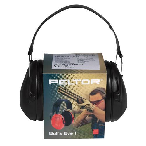 Sluchátka PELTOR H515FB Bull's Eye™ I ČIERNE