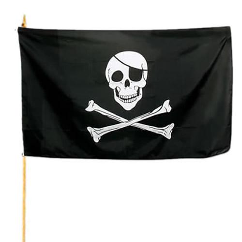 Zástava na tyčke PIRÁT