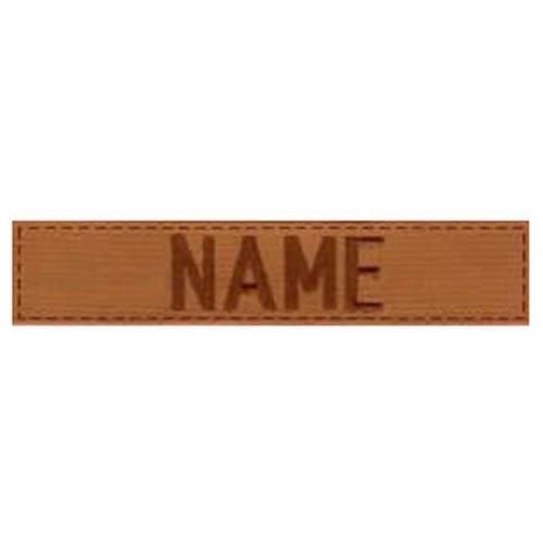 "Nášivka menovka ""NAME"" 3"" VELCRO COYOTE"