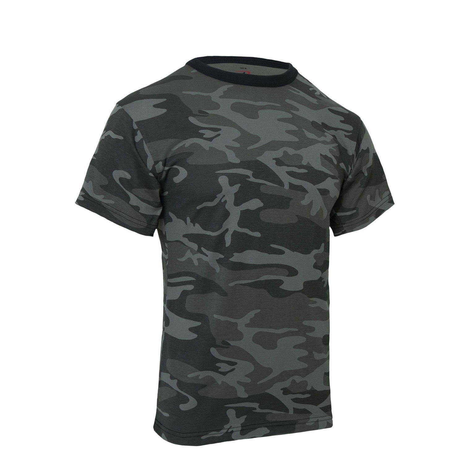 Tričko Midnight BLACK CAMO