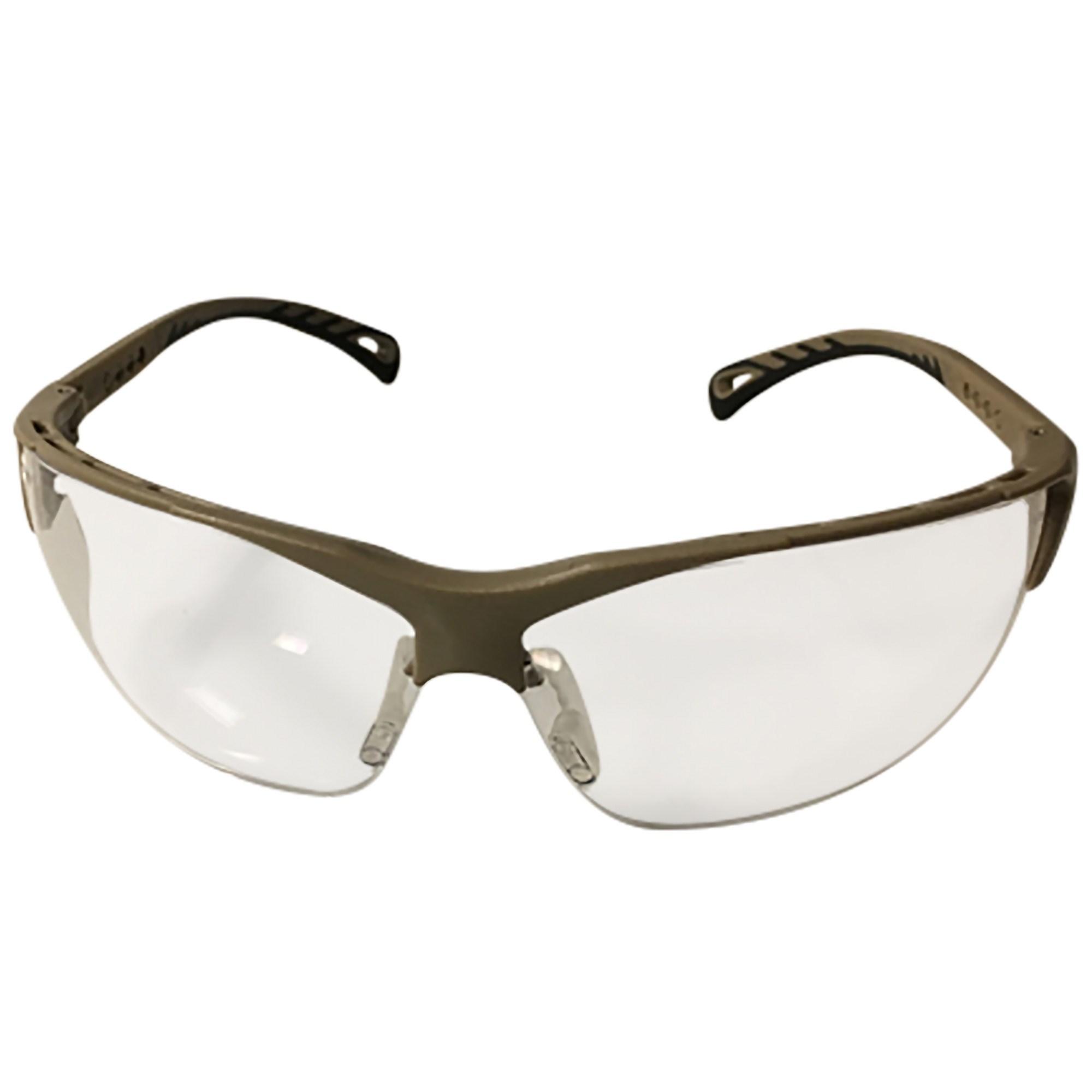 Okuliare ochranné nastaviteľné TAN číre