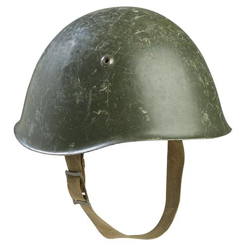 Prilba TALIANSKA M33 OLIV original použitá