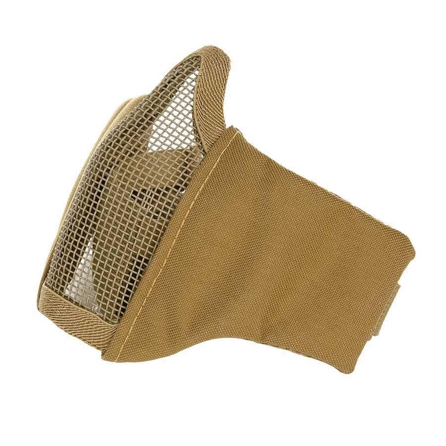 Maska AIRSOFT ochranná s mriežkou COYOTE