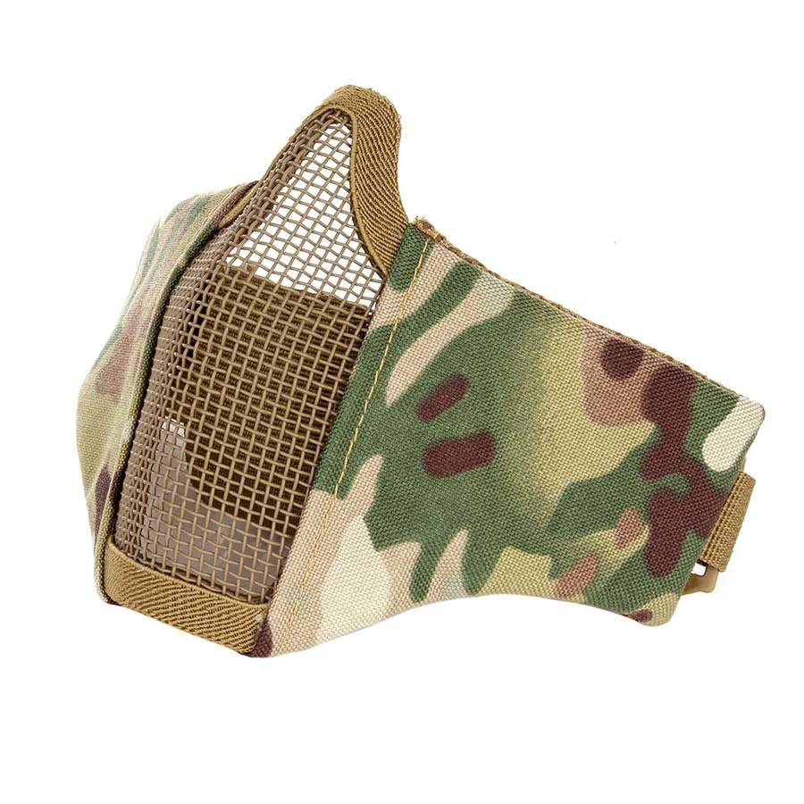 Maska AIRSOFT ochranná s mriežkou DTC MULTI