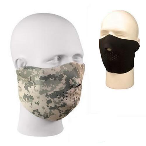 Polomaska neoprénová na tvár ARMY DIGITAL CAMO