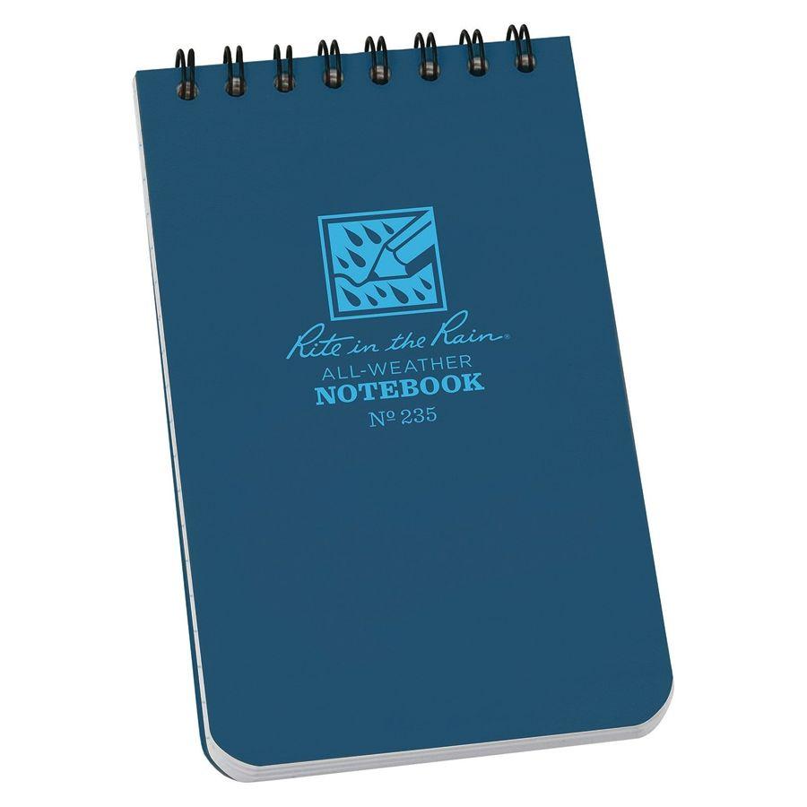 Blok vodeodolný RITE IN THE RAIN Notebook malý BLUE