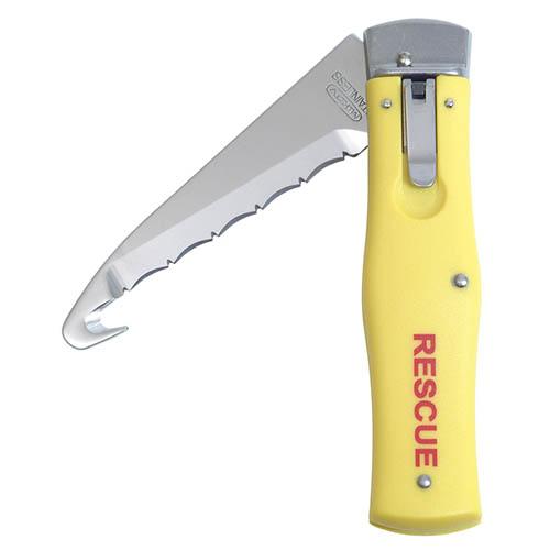 Nôž vyhadzovací NH-1 RESCUE rukoväť PLAST