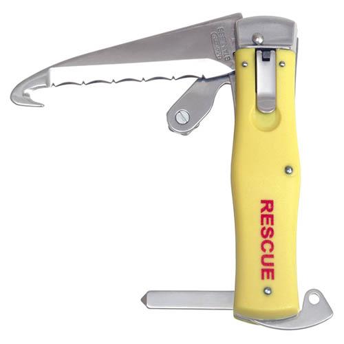 Nôž vyhadzovací NH-4 RESCUE rukoväť PLAST