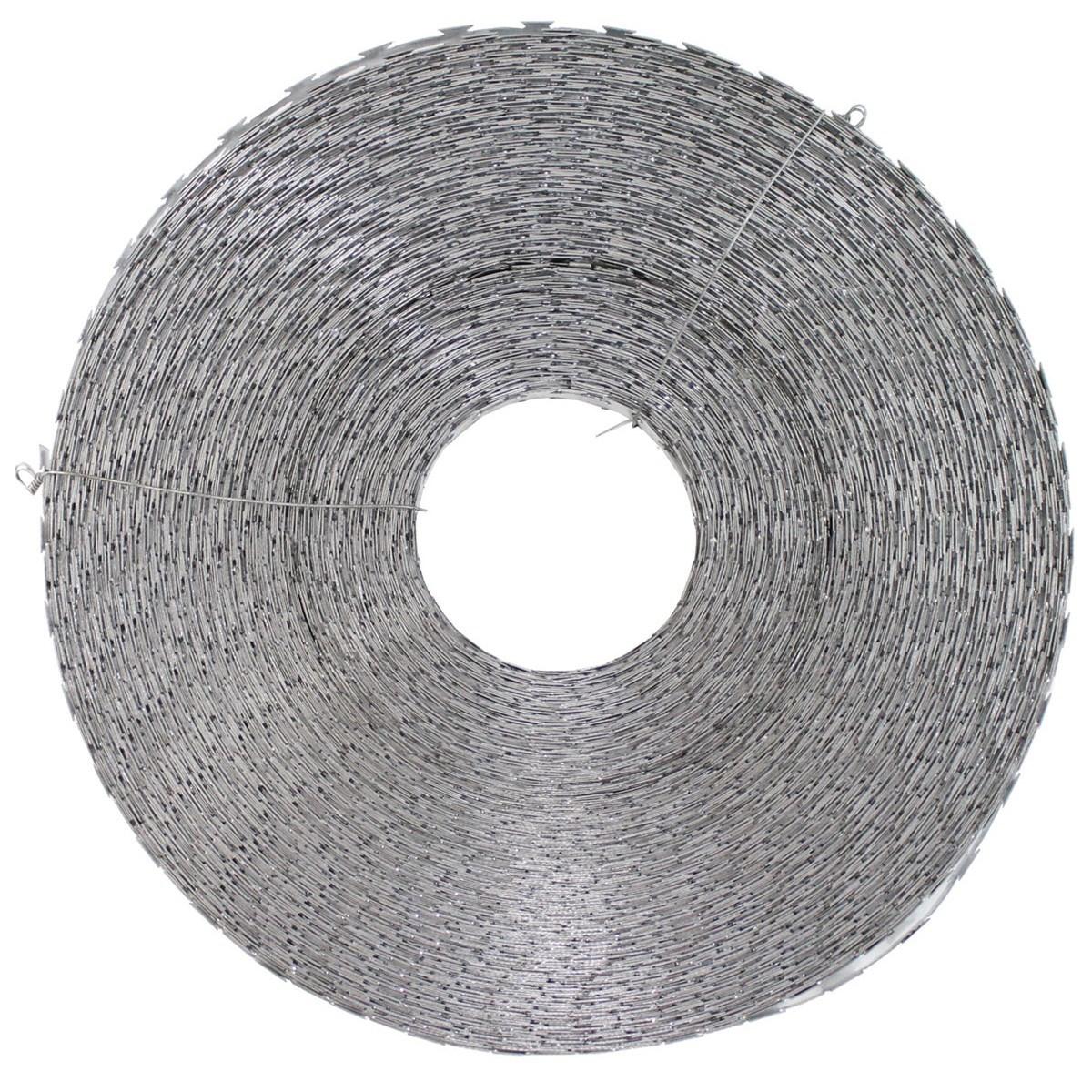 Drôt žiletkový 120m pozinkovaný