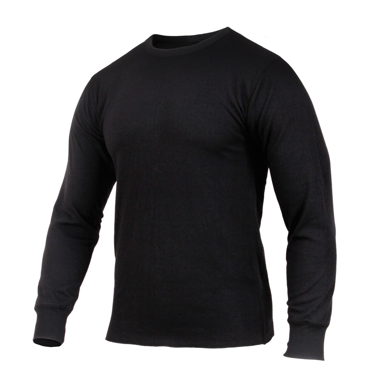 Tričko THERMAL s dlhým rukávom ČIERNE