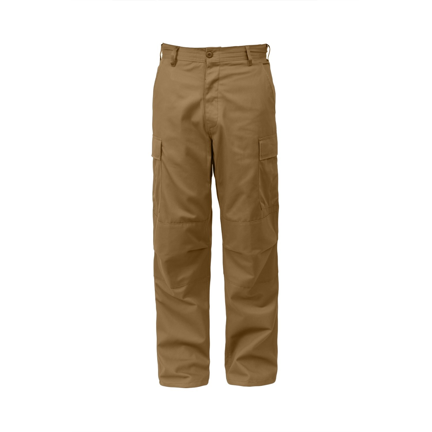 Nohavice BDU RELAXED ZIPPER FLY COYOTE BROWN