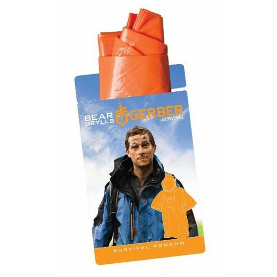 Poncho SURVIVAL BEAR GRYLLS