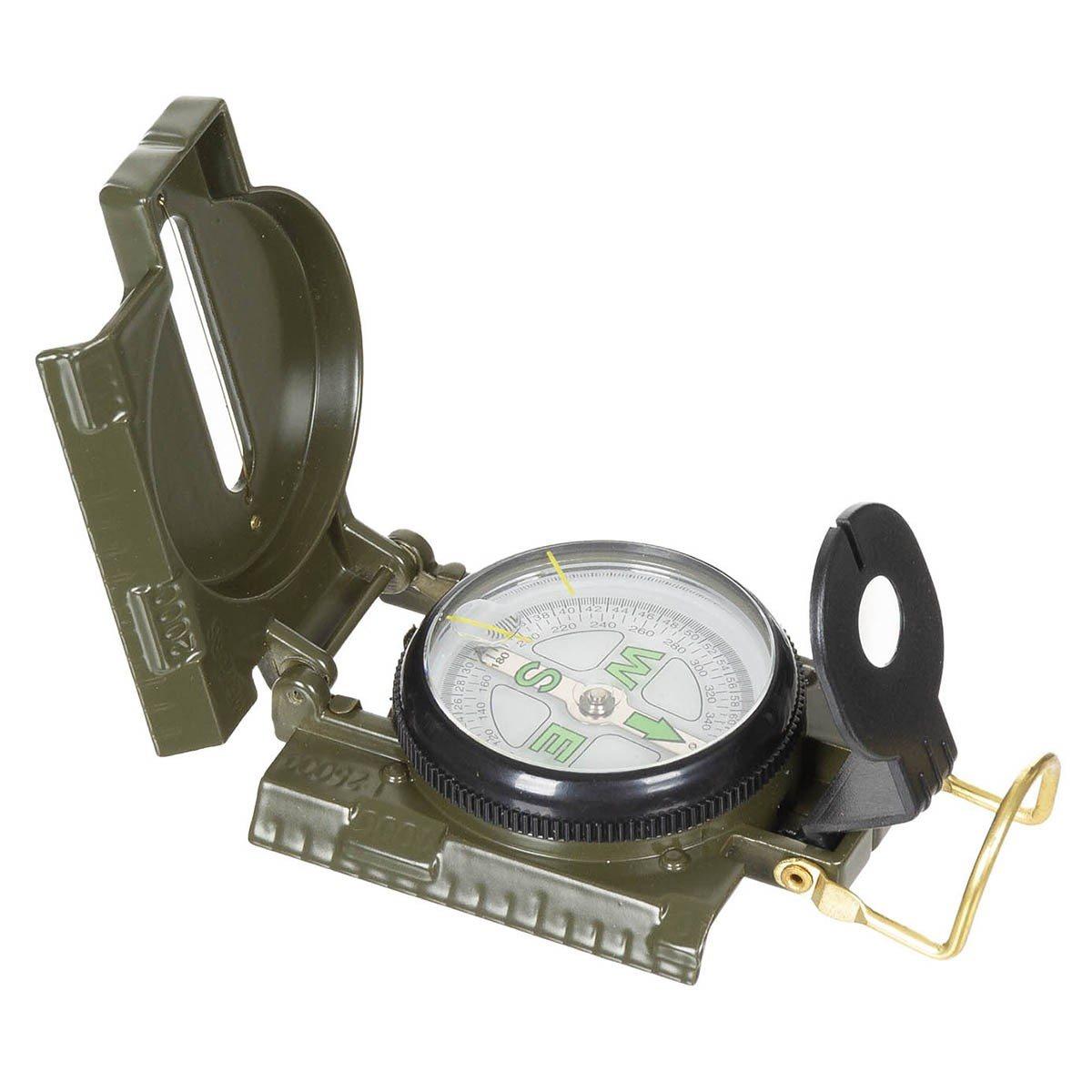 Kompas US kovový OLIV MFH int. comp. 34023 L-11