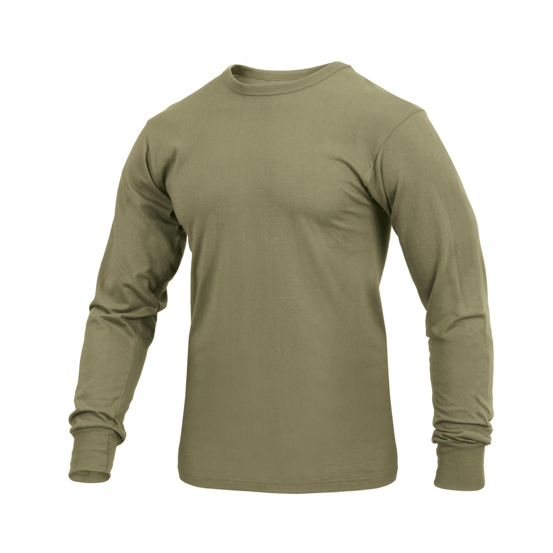 Tričko s dlhým rukávom COYOTE BROWN