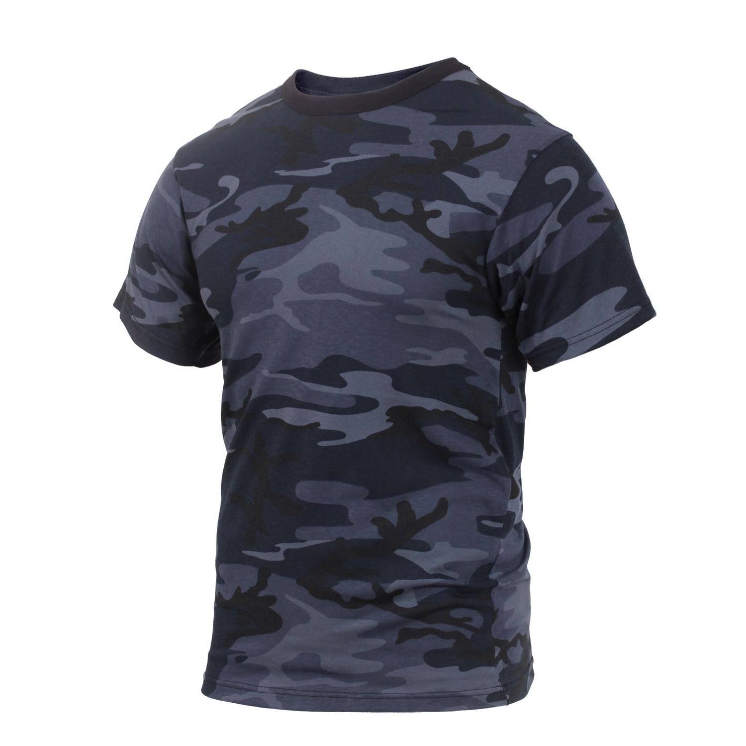 Tričko Midnight BLUE CAMO