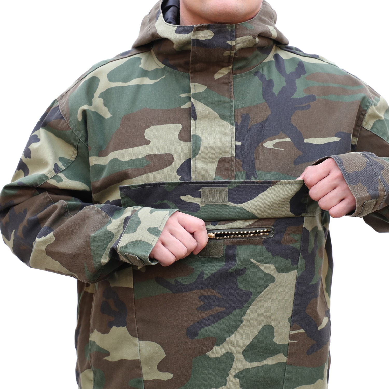 Bunda s kapucňou PARKA US WOODLAND ROTHCO 3847 L-11