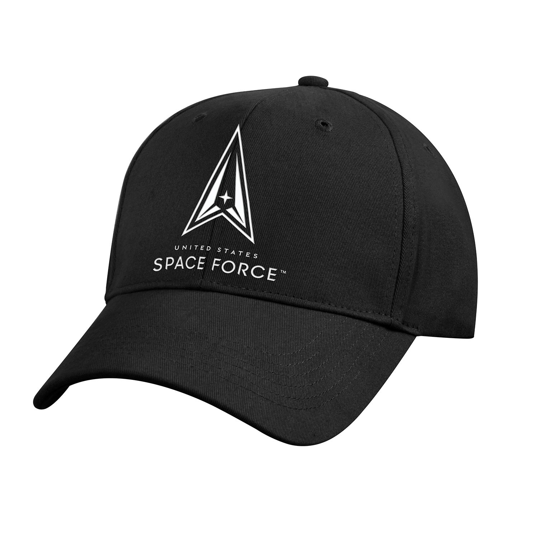 Čiapka SPACE FORCE baseball ČIERNA