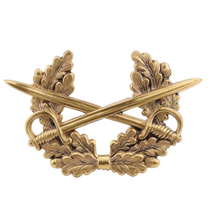 Odznak BW na čiapku HEER strieborný