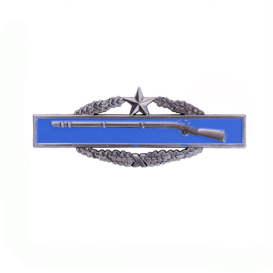 Odznak bojový US INFANTRY 2nd modrý /pištoľ/