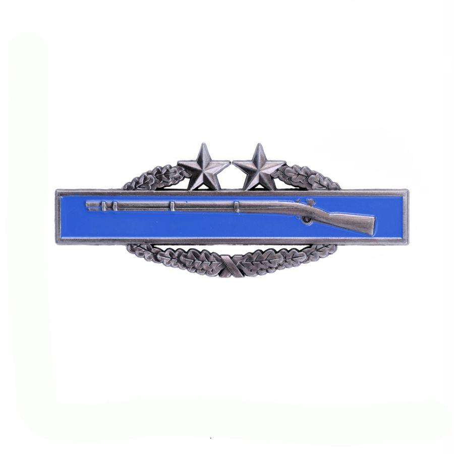 Odznak bojový US INFANTRY 3rd modrý /pištoľ/