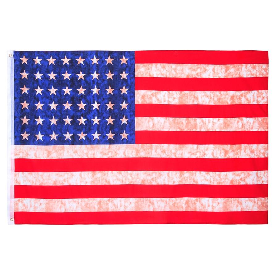 Vlajka USA vintage 48 hviezd 155 x 105 cm