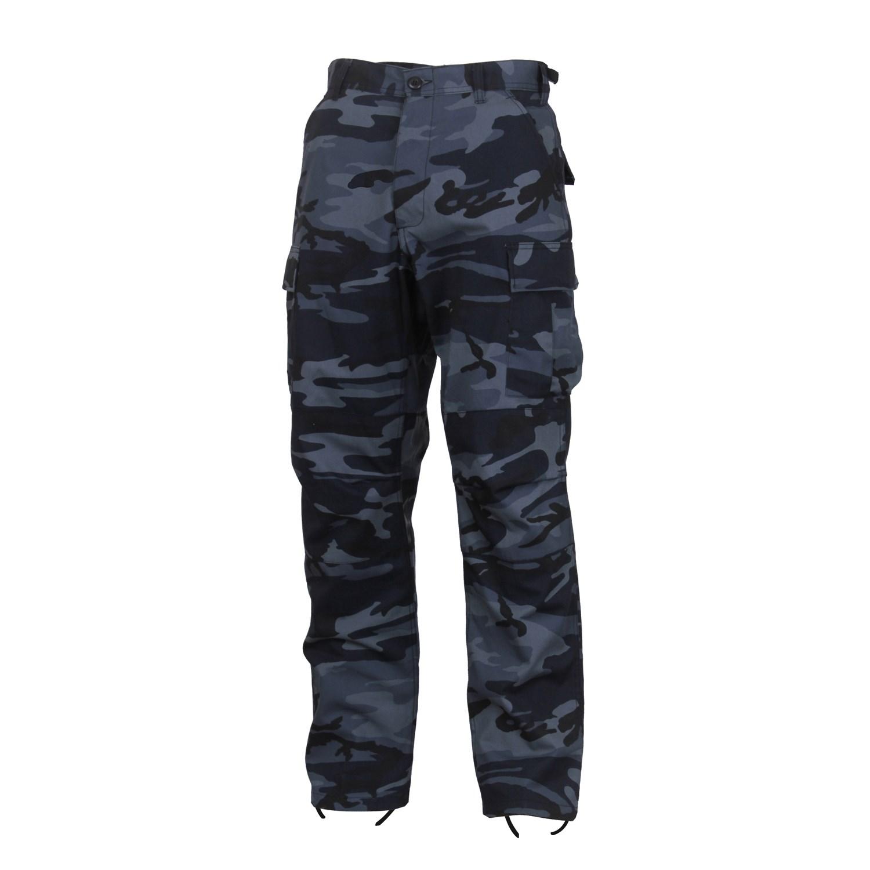 Nohavice taktické BDU MIDNIGHT BLUE CAMO