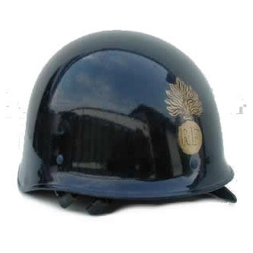 Prilba RF francúzska potlač MODRÁ použitá