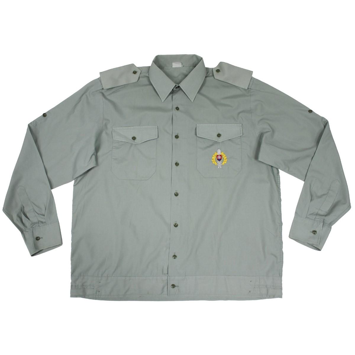 Košeľa SK s dlhým rukávom slovenská vychádzková