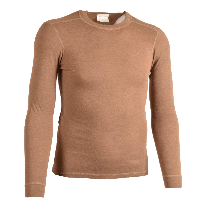 Tričko BW dlhý rukáv ARAMIDOVÉ HNEDÉ použité