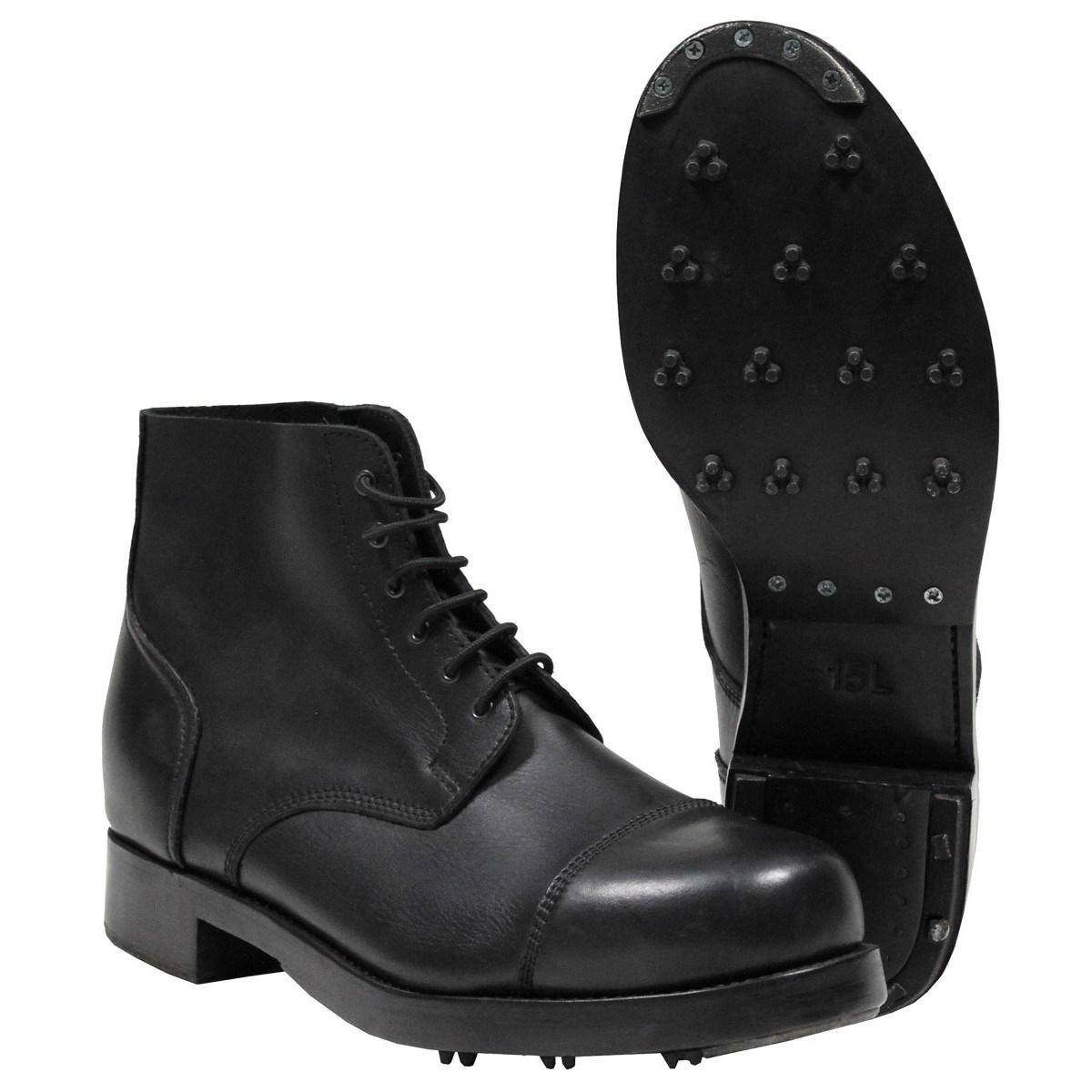 Topánky BRITSKÉ prehliadkové PARADE kožené použité
