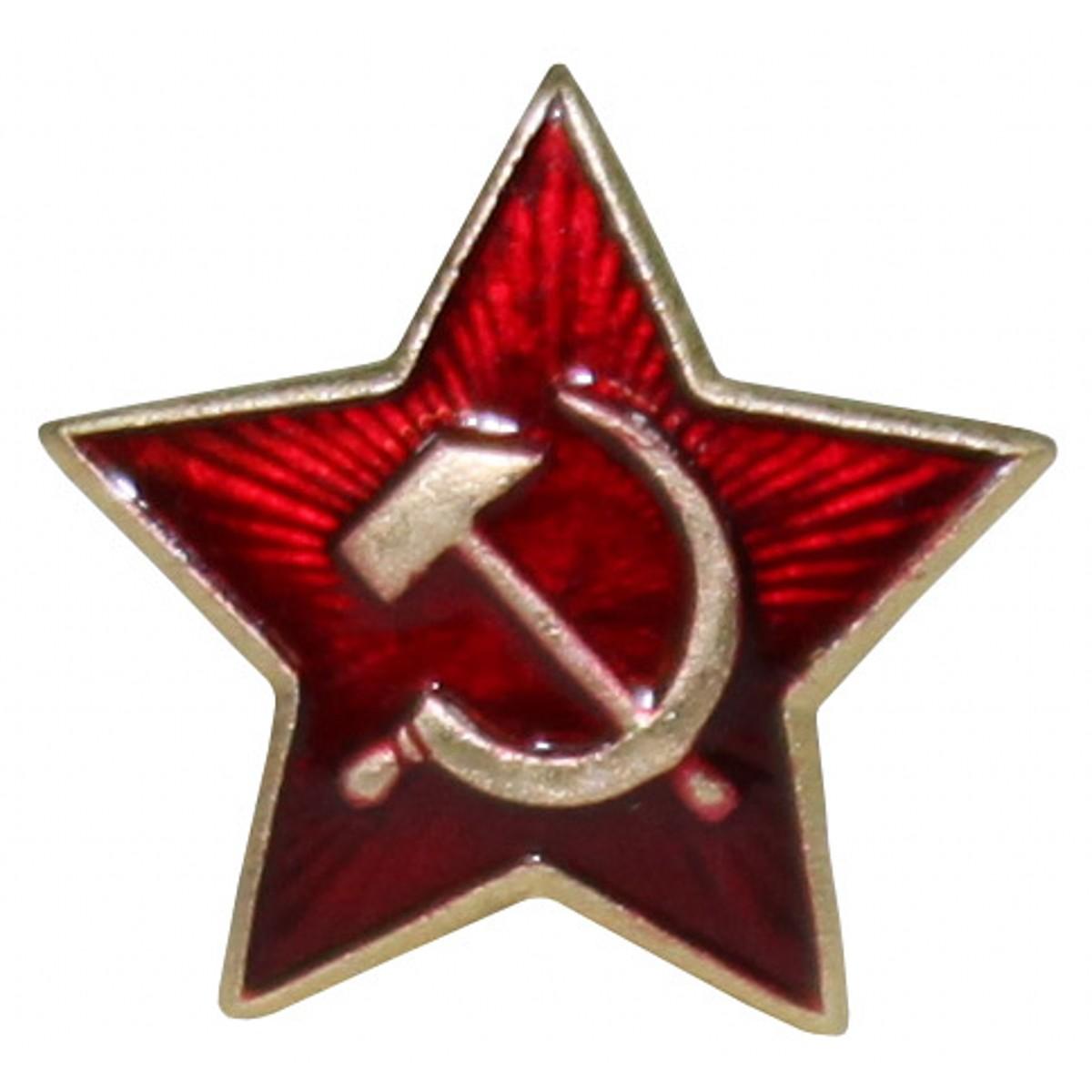 Odznak hviezda / kosák a kladivo / velký