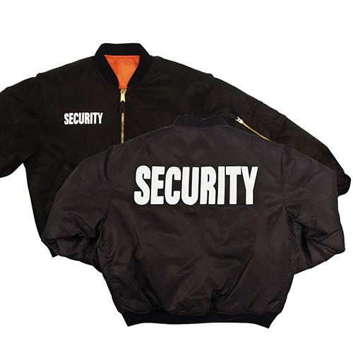 Bunda SECURITY MA1 FLIGHT ČIERNA ROTHCO 7357 L-11