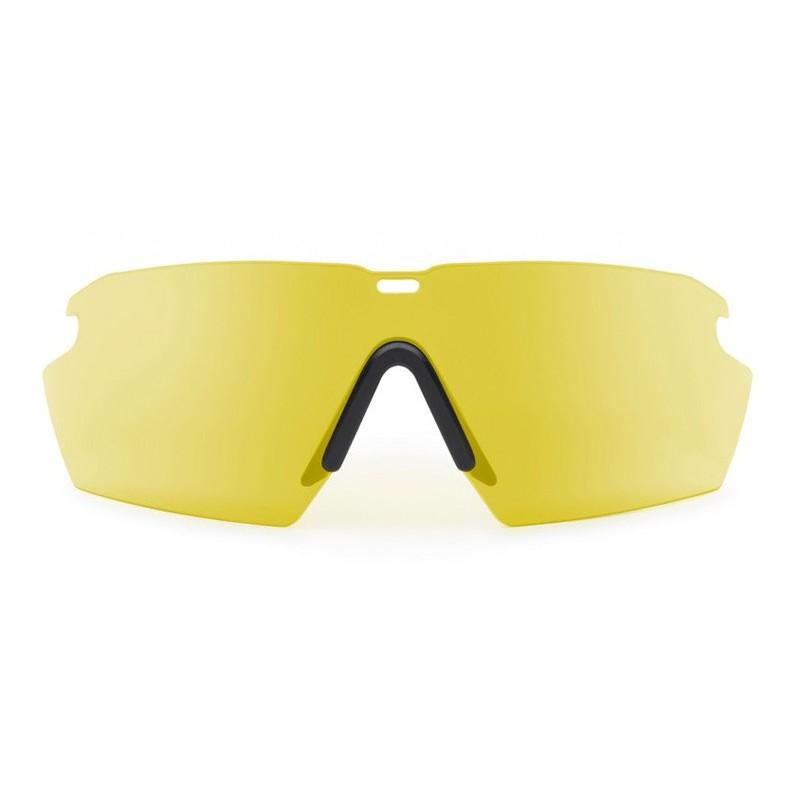 Sklá náhradníá pre okuliare CROSSHAIR ŽLTÁ