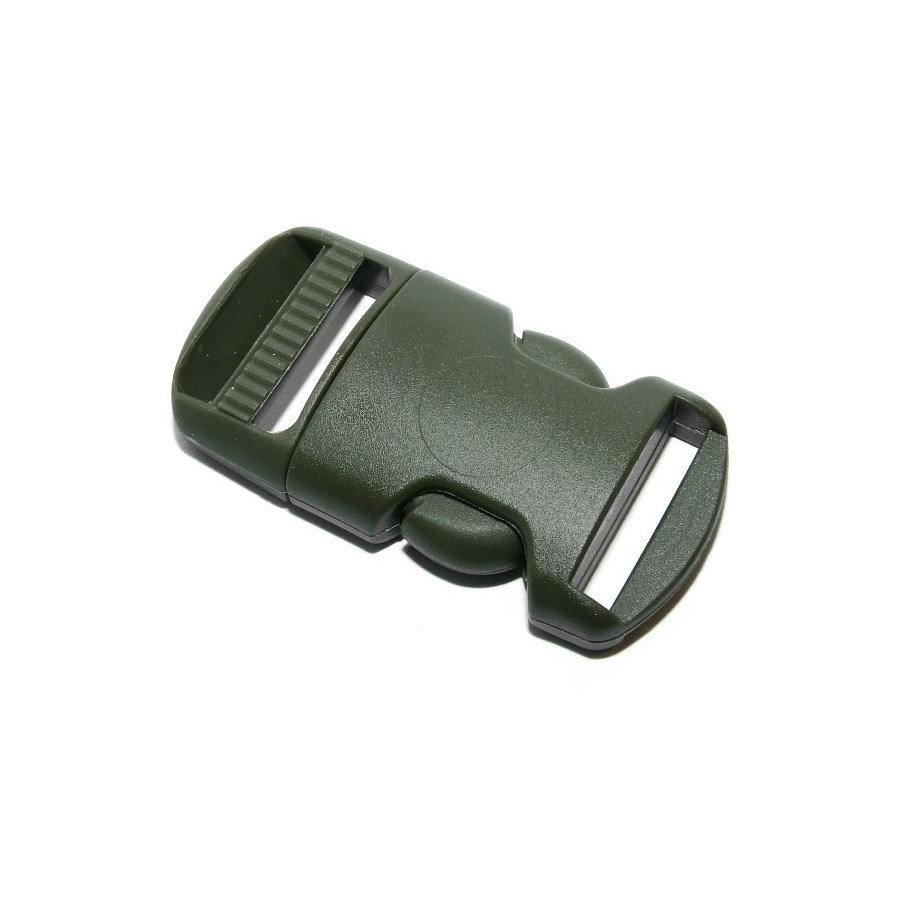 Spona/pracka plastová kompletná 16 mm ZELENÁ